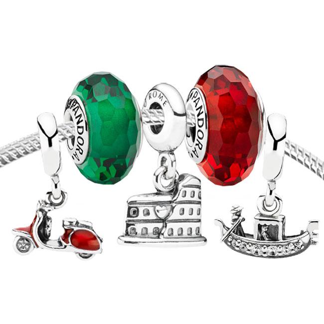 pandora charms rome