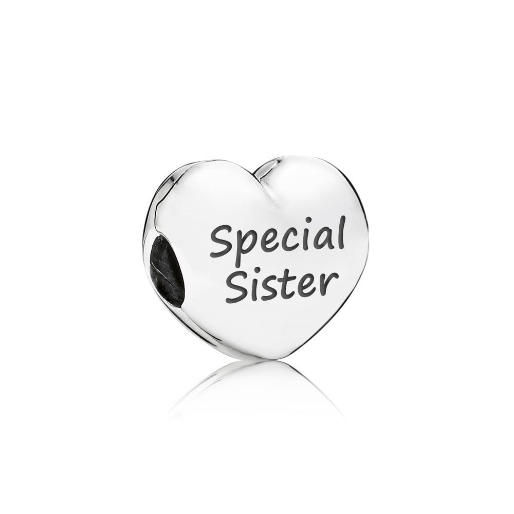 pandora charm for a sister