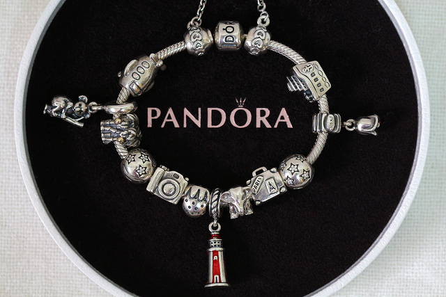 pandora charms travel theme