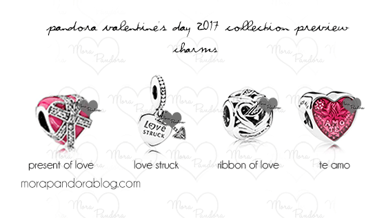 pandora charms valentine day