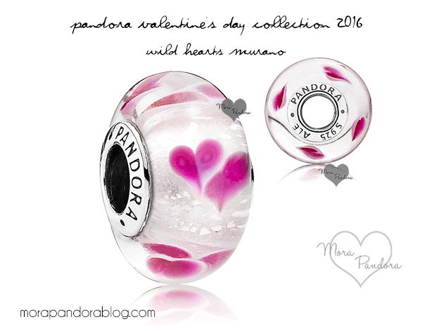pandora charms valentine's 2016