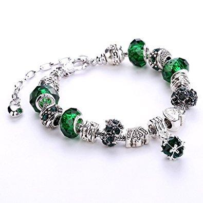 pandora charms vert