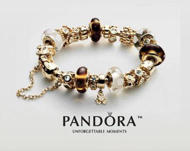 pandora charms website