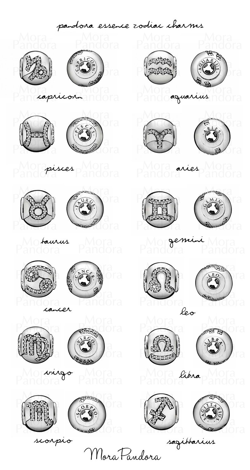 pandora charms zodiac signs